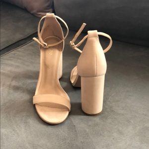 Nude/ Cream Aldo Heels